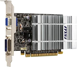 MSI Nvidia GT210 Heatsink DVI PCI-E Graphics Card (589MHz, 800MHz, 512MB, 64BIT DDR2)