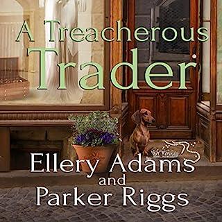 A Treacherous Trader audiobook cover art