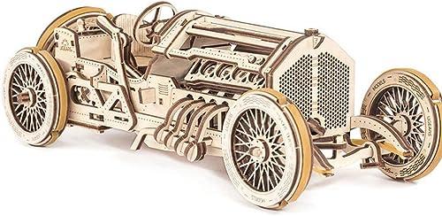 AX- model 3D Puzzle Oldtimer Modell aus Holz   348 Stück 35  9,5  13 cm montiert