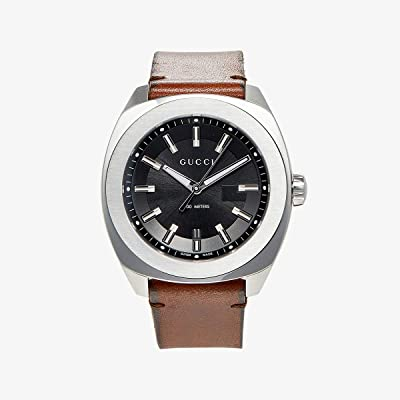 Gucci GG2570 44mm YA142207 (Brown/Black) Watches