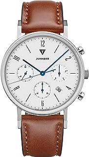 Junkers Dessau Montre à quartz analogique avec chronographe et verre saphir