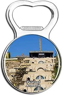 Weekino Cafesjian Center for the Arts Yerevan Armenia Fridge Magnet Bottle Opener Beer City Travel Souvenir Collection Strong Refrigerator Sticker