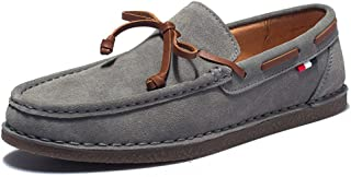 Tassel Boat Shoes Classic Loafers Slip On Moccasins Gray Driving Shoes