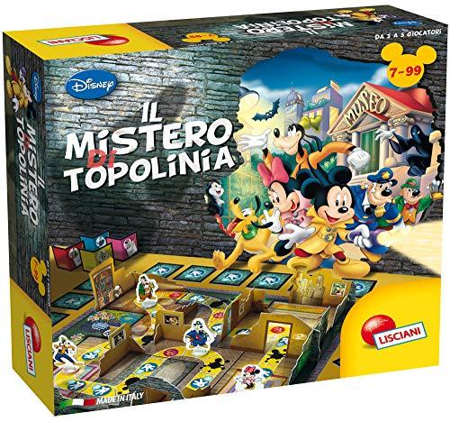 Lisciani Giochi – El Misterio de Mickey Mouse Juego para niños, 775