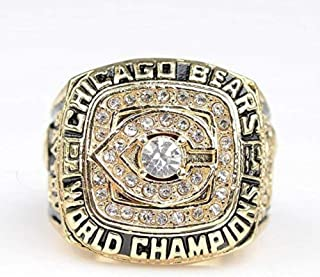 Chicago Bears Super Bowl XX 1985 Ring sz 11 Walter Payton