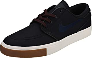Nike Zoom Stefan Janoski CNVS Mens Fashion-Sneakers 615957-024_8.5 - Black/Obsidian-Burgundy Crush