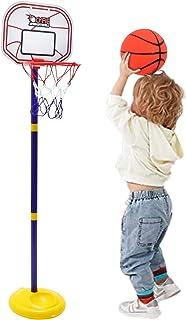 Cyfie Basketball Hoop for Kids, Adjustable Height Basketball Set, Basketball Stand Sports Game PlayIndoor Outdoor Backyar...