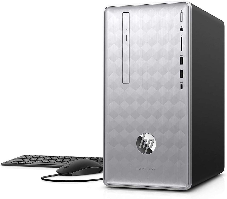Newest HP Pavilion 590 Desktop Computer 6 Max 80% OFF Cores latest Intel i5-84 8th