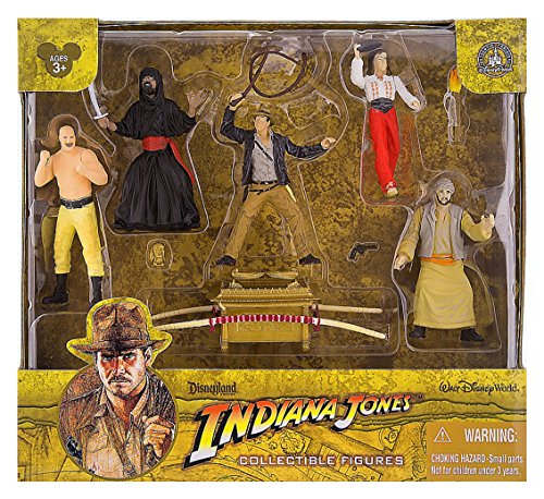 Indiana Jones Raiders of the Lost Ark Figure Set Playset