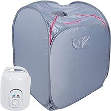 CHICIRIS Tente de sauna portable en tissu Oxford 21D pliable avec fil en acier pour perdre du poids (220 V, norme britanni...