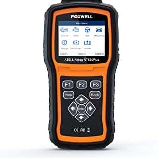 FOXWELL NT630 Plus OBD2 Scanner SRS ABS Autobleed OBD II Diagnostic Car Code Reader with SAS Calibration