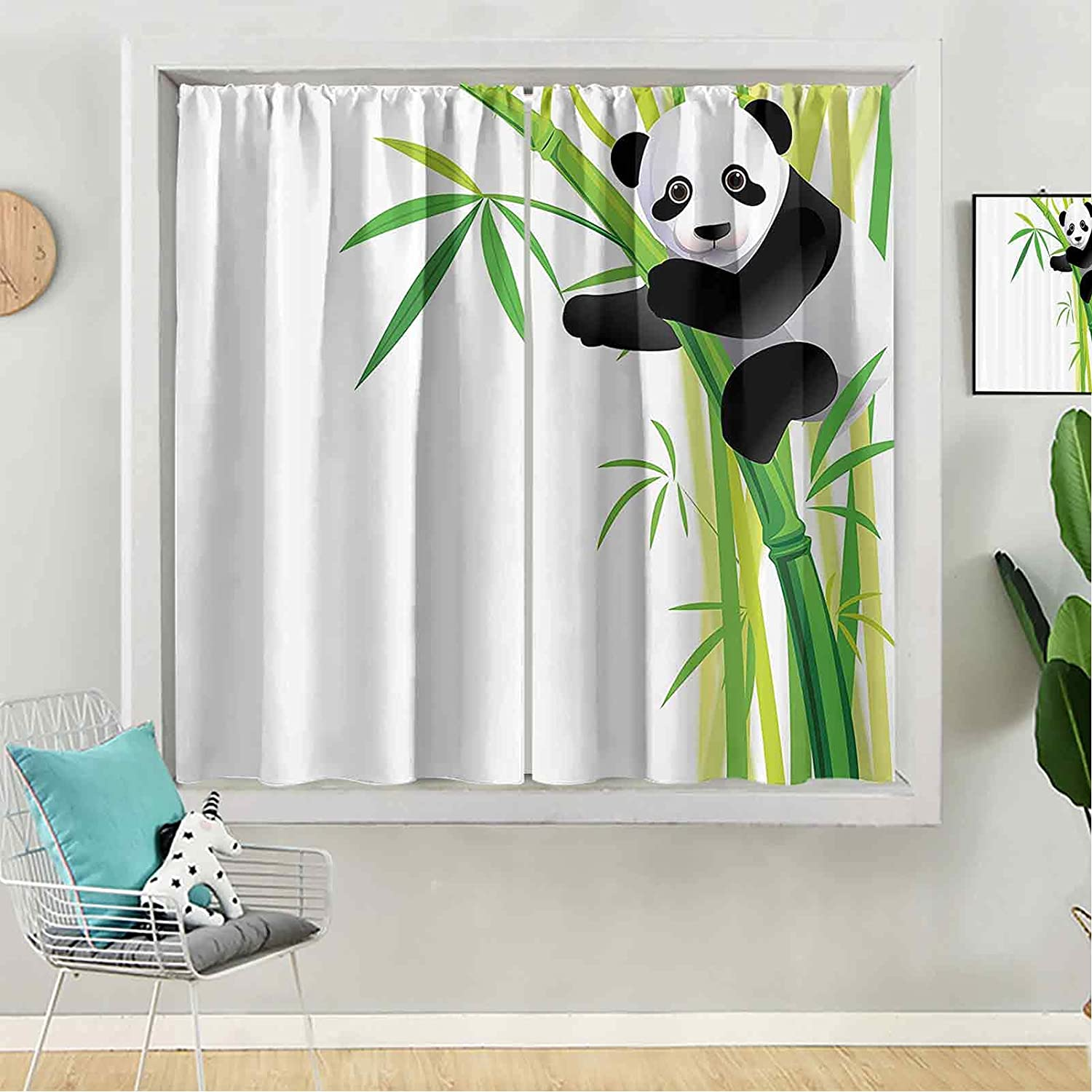 Blackout Curtain Popular Phoenix Mall 72 inches Long B for Panel Kids Window
