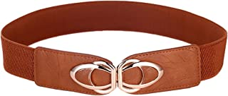 Beltox Womens Belts Elastic Stretch Cinch Plus Fashion Dress Belts for ladies