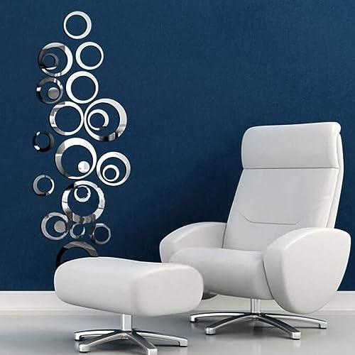 Silver Wall Decor For Bathroom Amazon Com