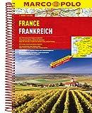 MARCO POLO Reiseatlas Frankreich 1:300.000: Wegenatlas 1:300 000 (MARCO POLO Reiseatlanten)
