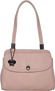(Butterflies Women Hand Bag (Peach) (BNS 0713PCH)