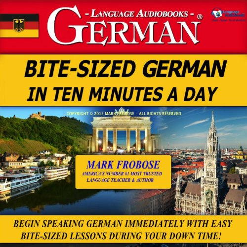 Bite-Sized German in Ten Minutes a Day cover art