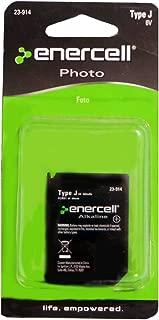 Enercell Photo Battery Type J 6v 500mAh 4LR61, 7K67, 7K67B, 539, 867, 1412AP, 4LR61