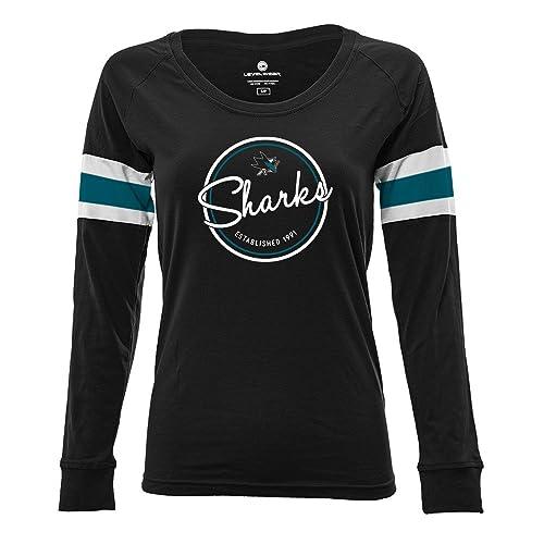 cheap for discount 0854f c0fe8 Women's San Jose Sharks Apparel: Amazon.com