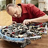 LEGO Star Wars Ultimate Millennium Falcon 75192 Expert Building Kit and Starship Model, Best Gift and Movie Collectible for Adults (7541 Pieces)