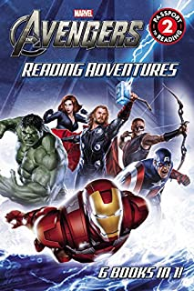 Marvel's The Avengers Reading Adventures (Passport to Reading Level 2)