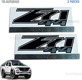 Powerwarauto Z71 4x4 Black Sticker Decal for Chevrolet Chevy Holden Colorado Truck Pick-up UTE 2006 2007 2008 2009 2010 2011 2012
