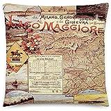 GodYo Vintage Poster - Lago Maggiore 0798 - Quadratische