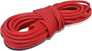 KTYXDE Climbing Rope Escape Rope Nylon Rope Fire Rescue Rope Diameter 9mm Climbing Rope (Size : 50M)