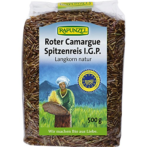 Rapunzel Bio Roter Camargue Spitzenreis natur I.G.P. (6 x 500 gr)
