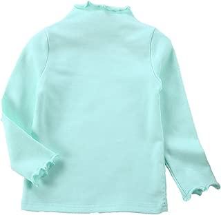 学步女童运动衫套头棉婴儿褶皱衬衫套装