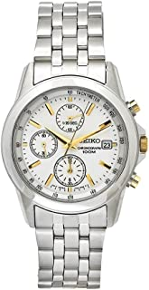 Men's SNDC11P1 Chronograph Silver Dial Stainless Steel Watch