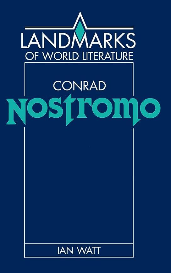 習字スポーツをするまどろみのあるConrad: Nostromo (Landmarks of World Literature)