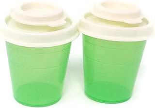 tupperware plastic salt and pepper shakers
