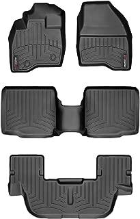 WeatherTech Custom Fit FloorLiner for Ford Explorer - 1st, 2nd, 3rd Row (Black)