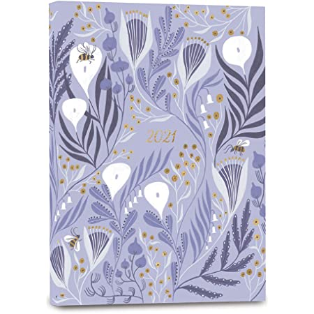 """High Note 2021 Planner by Rae Ritchie, Garden Bee 18-Month Softcover Planner, July 2020 - December 2021, 5.75"""" x 7.75"""""""