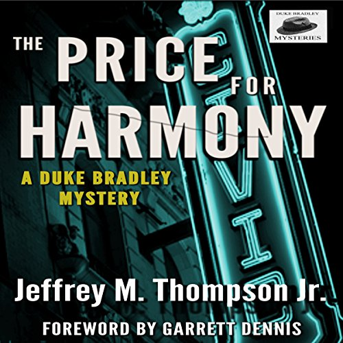 The Price for Harmony audiobook cover art