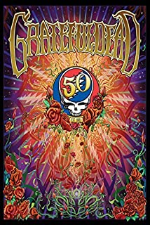 Best grateful dead 50th anniversary poster Reviews