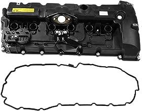 Qiilu Professional Engine Turbo Valve Cover for BMW E70 E82 E90 E91 Z4 X3 X5 128i 328i Turbo Valve Cover Gasket 11127552281