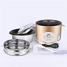 Rijstkoker (2/3/4/5L) Huishoudelijke rijstkoker met antiaanbaklaag, met stomer en warmhoudfunctie, voor 1-8 personen (afme...