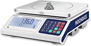 Industrial Counting Scale   30kg Capacity and 0.1g Accuracy   Gram Scale Counting Scales for Parts and Coins with RS232 for Connecting Computer or Printer(Unit: Only G, KG. Without Battery)