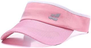 Quanhaigou Sun Visor for Men Women,Premium Sports Tennis Golf Running Hat, Mesh Adjustable Cap