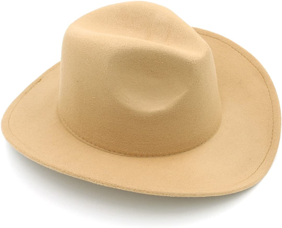 Genuine Elee Kids Boys Girls Felt Cowboy Blend Hat Western 67% OFF of fixed price Wool Children