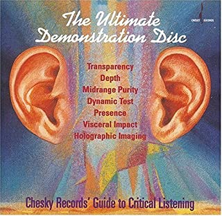 Ultimate Demonstration Disc: Chesky Records' Guide to Critical Listening by Chesky Records