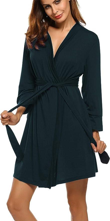 1160 opinioni per UNibelle Donna Pigiama Kimono Camicia da