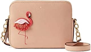 Kate Spade Flamingo Camera Bag Handbag By the Pool Multi