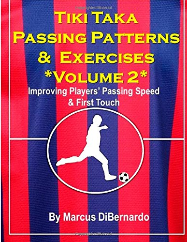 Tiki Taka Passing Patterns & Exercises Volume 2: Improving Players' Passing Speed & First Touch