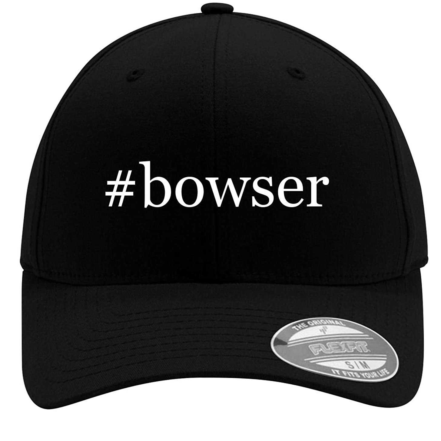 #Bowser - Adult Men's Hashtag Flexfit Baseball Hat Cap