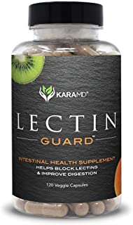 KaraMD Lectin Guard (120 Capsules) | Doctor Formulated Natural & Concentrated Lectin Blocker Digestive Blend Supplement | ...