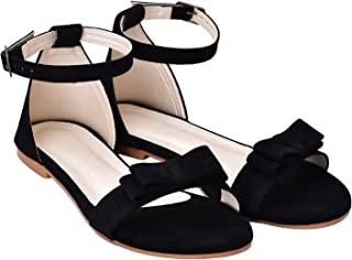 Raien Fashion Womens Fashion Flats and Sandals with tie-Size(Euro 36/Ind 3)