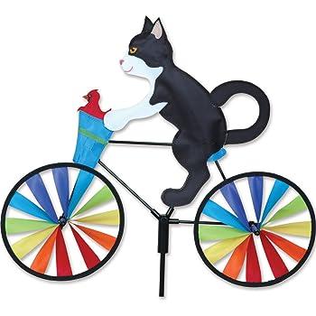 Premier Kites 20 in. Bike Spinner - Tux Cat